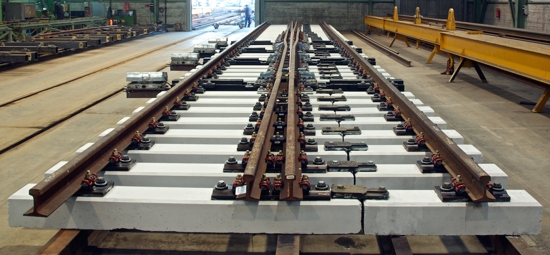 Amurrio Ferrocarril y Equipos S.A. supplies High Speed Turnouts for the Meca-Medina Line