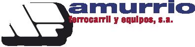 Logotipo de Amurrio Ferrocarril y Equipos, S.A.