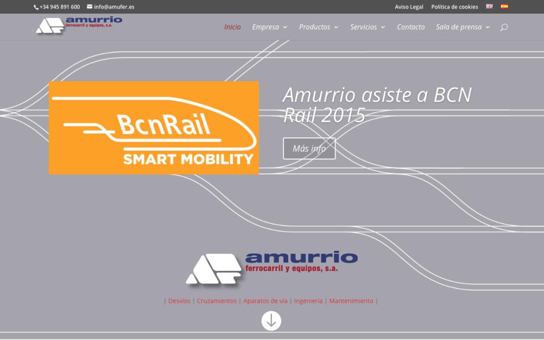 Amurrio presenta su nuevo sitio web con una imagen renovada