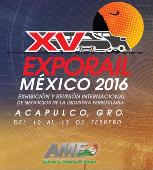 Amurrio participará en Expo Rail México, del 10 al 12 de febrero 2016