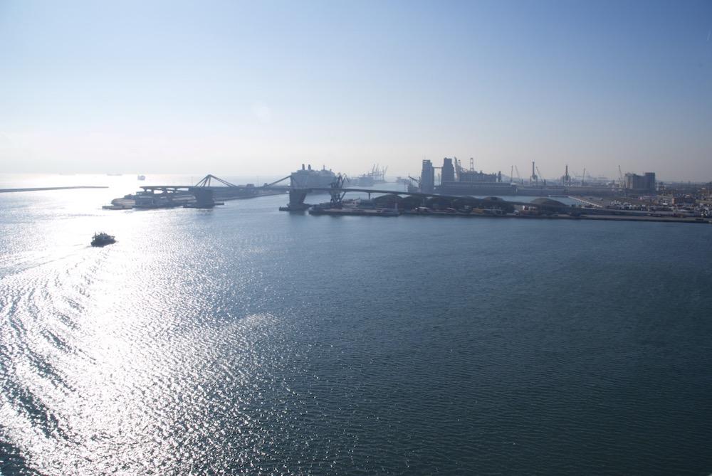 El reto del ancho triple en el puerto de Barcelona