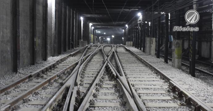 Amurrio en la renovación de la estación Constitución del metro de Buenos Aires
