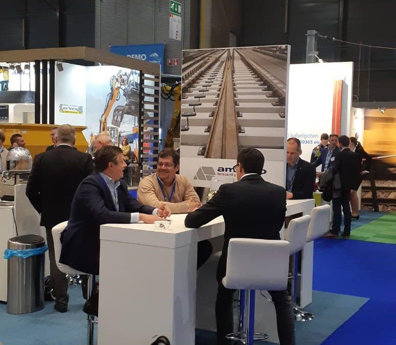 Amurrio en RailTech Europe 2019, en Utrech