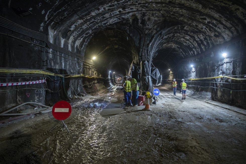 Amurrio ha suministrado ya los primeros aparatos de vía del Túnel de Recoletos