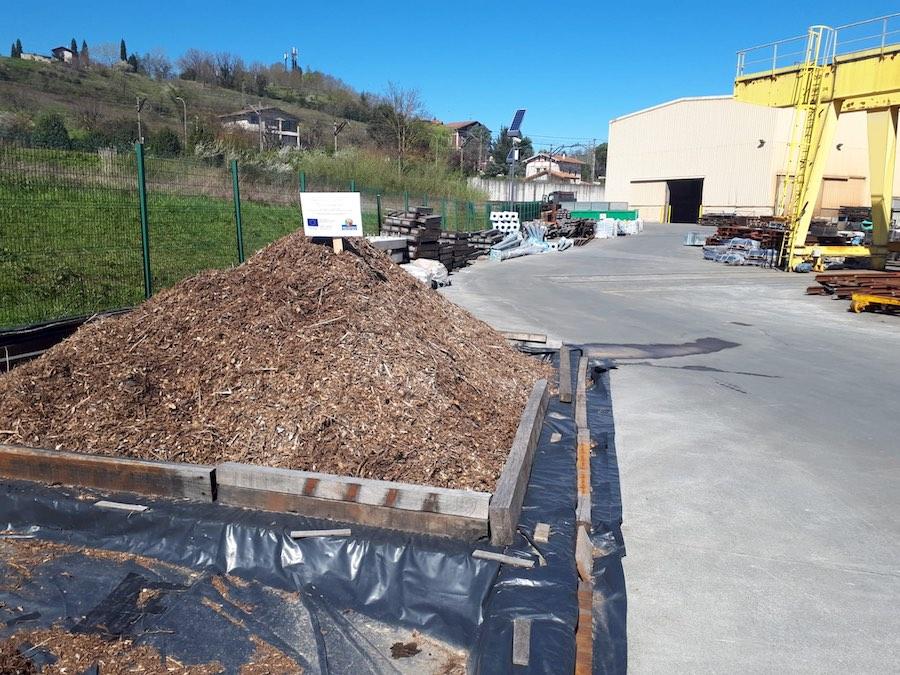 Amurrio Ferrocarril lidera un proyecto para la bioregeneración por compostaje de la arena de fundición